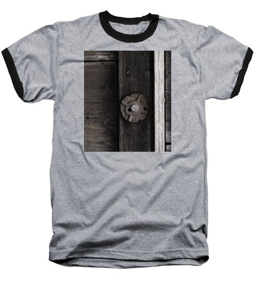 Weathered Wood And Metal Two Baseball T-Shirt