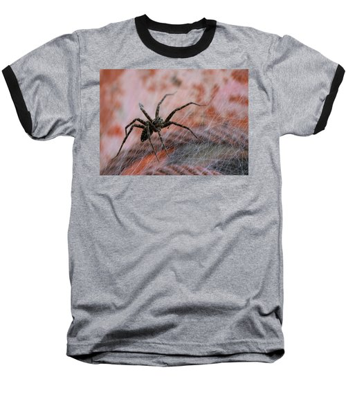 Web Baseball T-Shirt