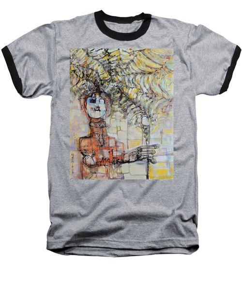 Web Of Memories Baseball T-Shirt