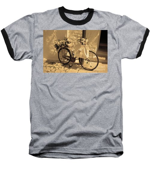 Wedding Bike Baseball T-Shirt