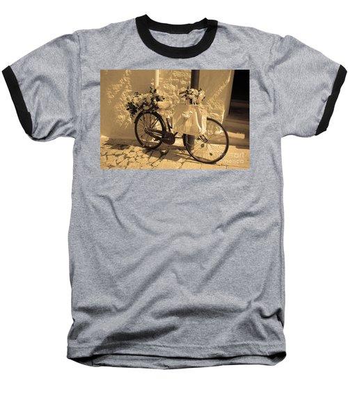 Wedding Bike Baseball T-Shirt