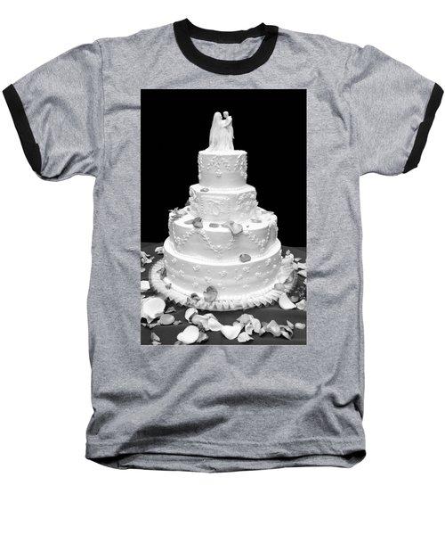 Wedding Cake Baseball T-Shirt