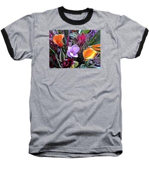 Wedding Flowers Baseball T-Shirt by Brian Chase