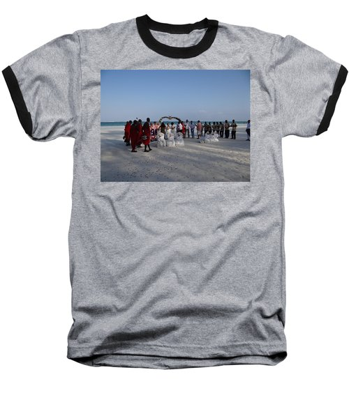 wedding with Maasai singers Baseball T-Shirt