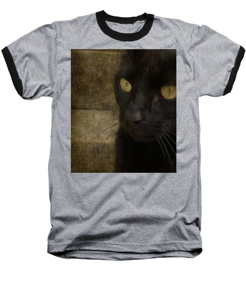 Baseball T-Shirt featuring the photograph Wee Sybil  by Paul Lovering