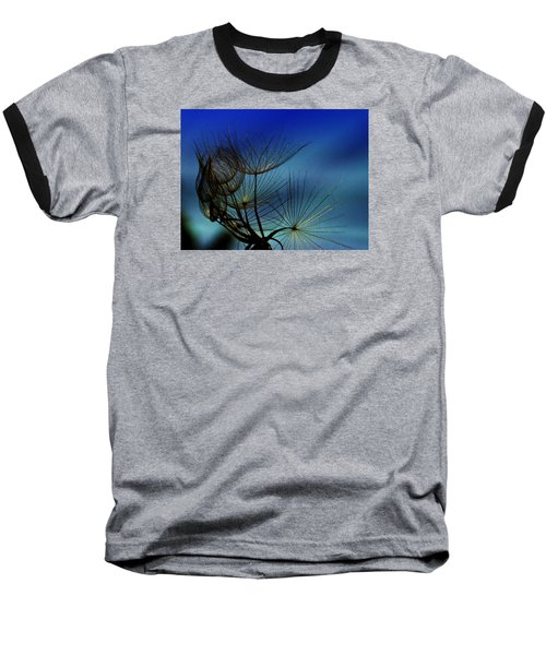 Baseball T-Shirt featuring the photograph Weeds Can Be Beautiful.... by Judy  Johnson