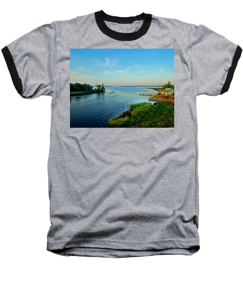 Weeks Bay Going Fishing Baseball T-Shirt