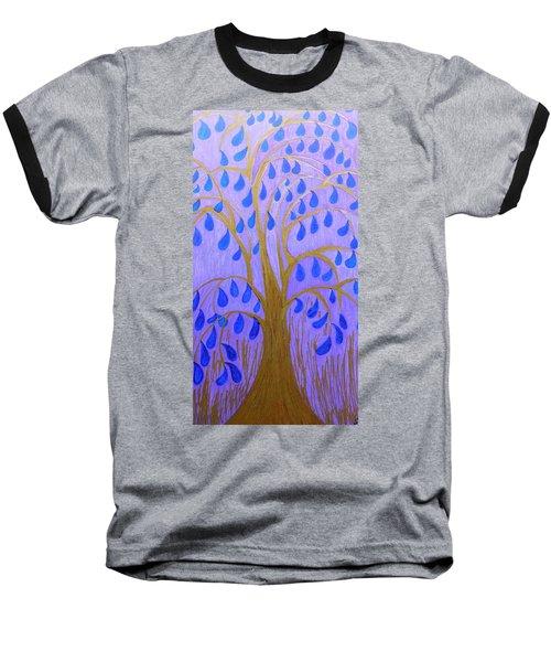 Weeping Tree Baseball T-Shirt