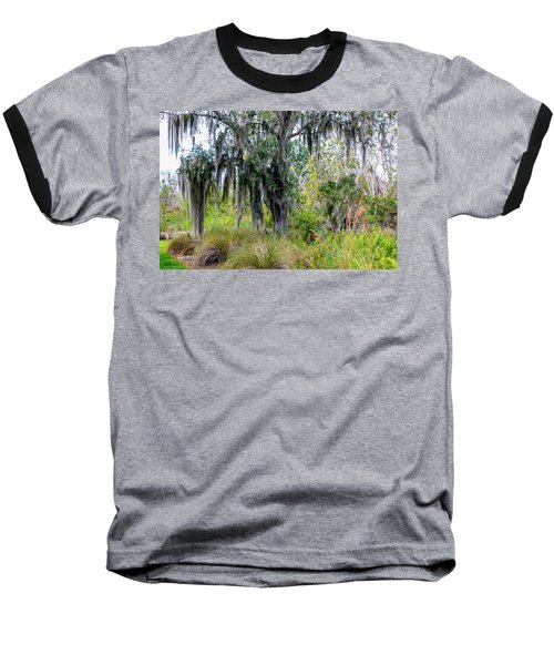 Baseball T-Shirt featuring the photograph Weeping Willow by Madeline Ellis