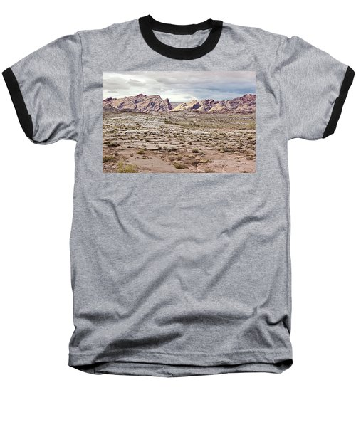 Weird Rock Formation Baseball T-Shirt