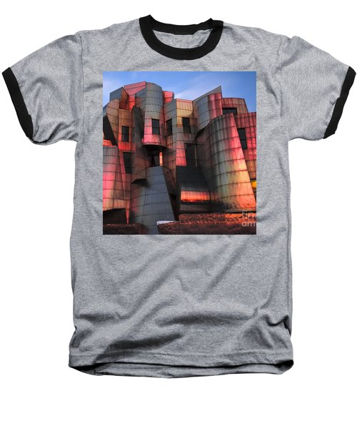 Weisman Art Museum At Sunset Baseball T-Shirt