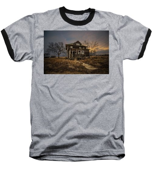 Baseball T-Shirt featuring the photograph Welcome Home by Aaron J Groen