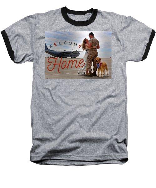 Welcome Home Baseball T-Shirt