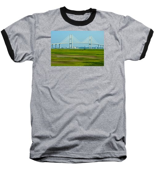 Baseball T-Shirt featuring the photograph Welcome To Brunswick by Laura Ragland