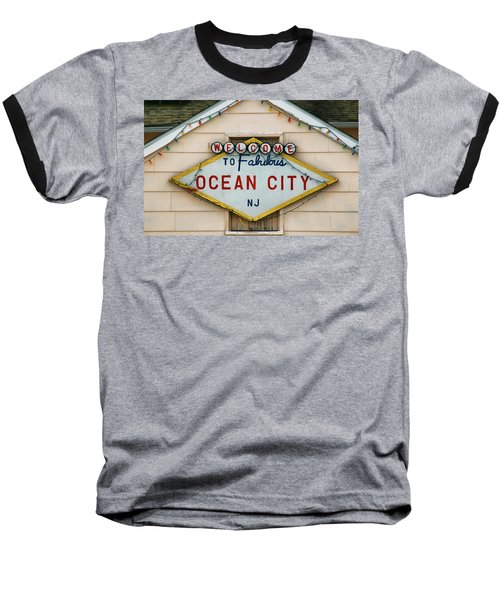 Welcome To Fabulous Ocean City N J Baseball T-Shirt