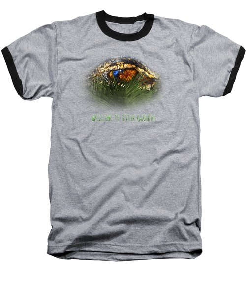 Welcome To Gator Country Design Baseball T-Shirt