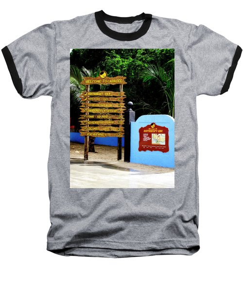 Welcome To Labadee Baseball T-Shirt