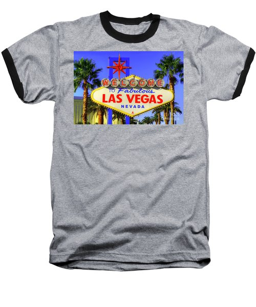 Welcome To Las Vegas Baseball T-Shirt