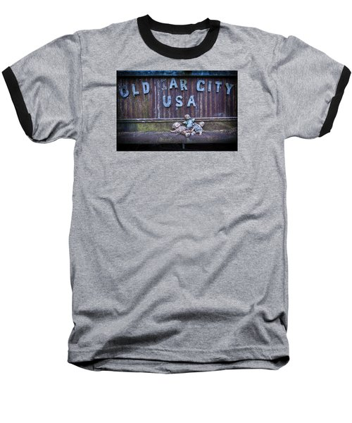 Welcome To Old Car City Baseball T-Shirt