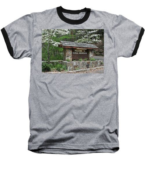 Welcome To Signal Mountain Spring Baseball T-Shirt