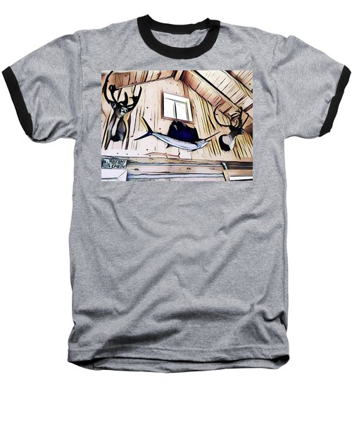 Welcome To The Cabin Baseball T-Shirt