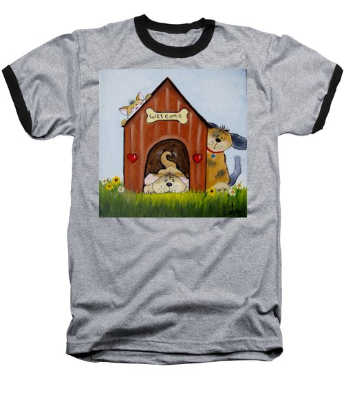 Welcome To The Doghouse Baseball T-Shirt