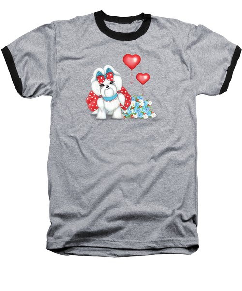 Welcome With Love  Baseball T-Shirt