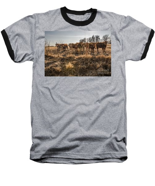 Baseball T-Shirt featuring the photograph Welcoming Committee by Sue Smith