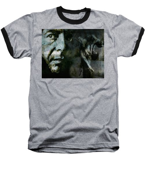 Baseball T-Shirt featuring the painting Well , I've Heard There Is A Secret Chord by Paul Lovering