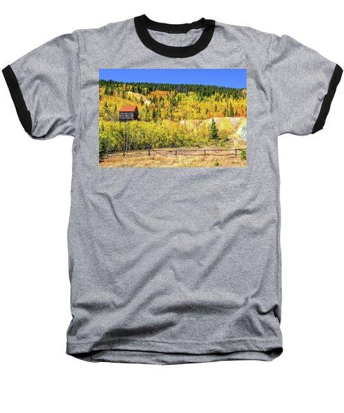 Wellington Ore Bin In The Aspen Baseball T-Shirt