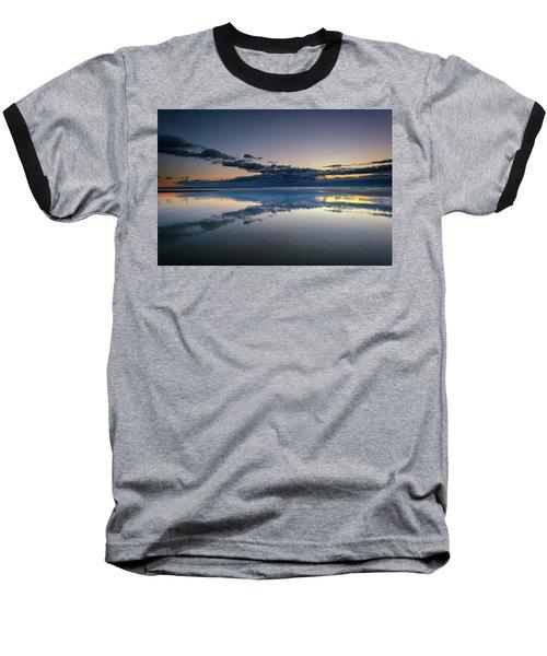 Baseball T-Shirt featuring the photograph Wells Beach Reflections by Rick Berk