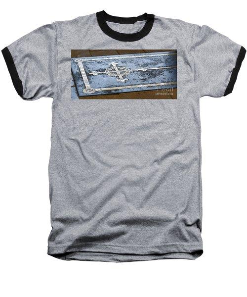 Wells Cathedral Tomb Baseball T-Shirt