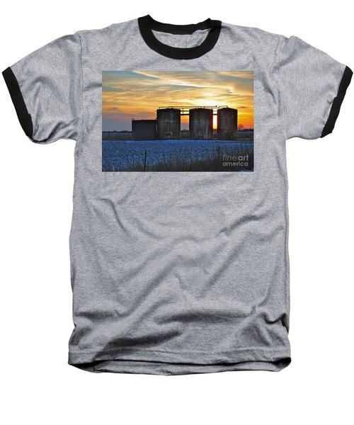 Wellsite Sunset Baseball T-Shirt