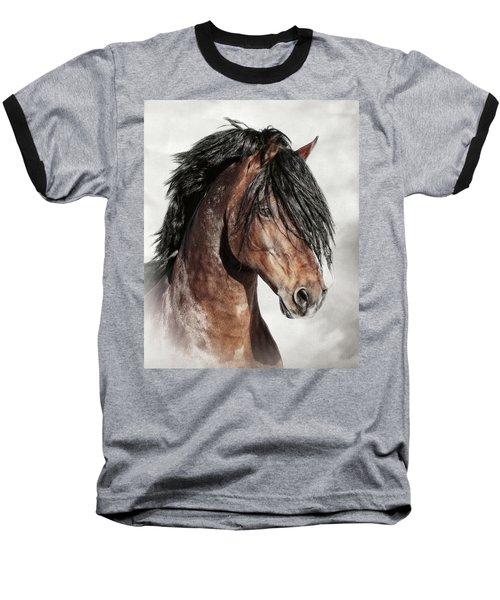 Welsh Cob Portrait Baseball T-Shirt