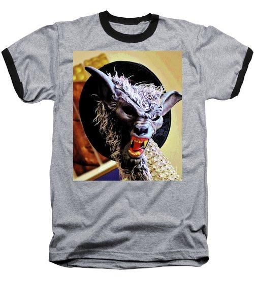 Werewolf Attack Baseball T-Shirt by Craig Wood