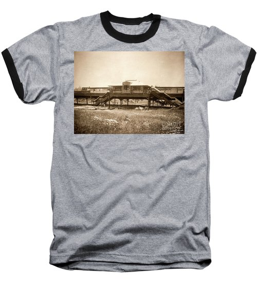 West 207th Street, 1906 Baseball T-Shirt by Cole Thompson