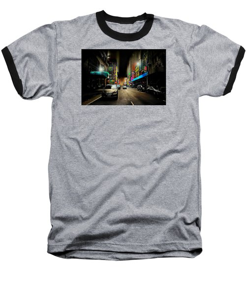 West 46th St. Baseball T-Shirt by Diana Angstadt