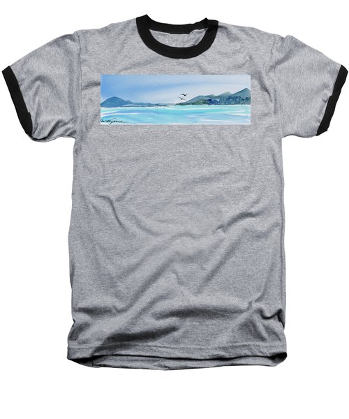 West Coast  Isle Of Pines, New Caledonia Baseball T-Shirt