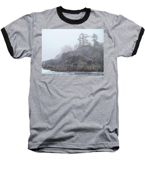 West Coast Landscape Ocean Fog I Baseball T-Shirt