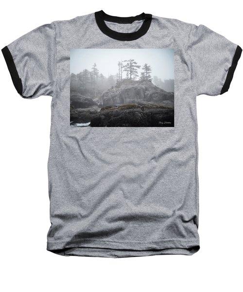 West Coast Landscape Ocean Fog IIi Baseball T-Shirt