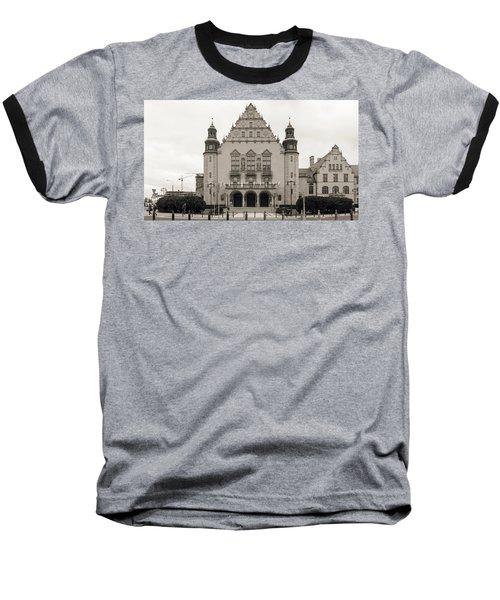 West Facade Of Adam Mickiewicz University Poznan Poland Baseball T-Shirt