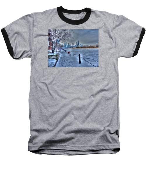 West From Navy Pier Baseball T-Shirt