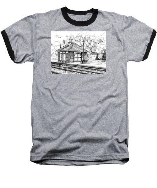 West Hinsdale Train Station Baseball T-Shirt