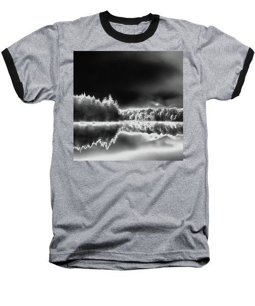 Baseball T-Shirt featuring the photograph West Lake Backlit by David Patterson