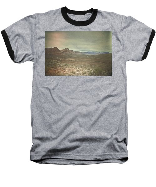 Baseball T-Shirt featuring the photograph West by Mark Ross