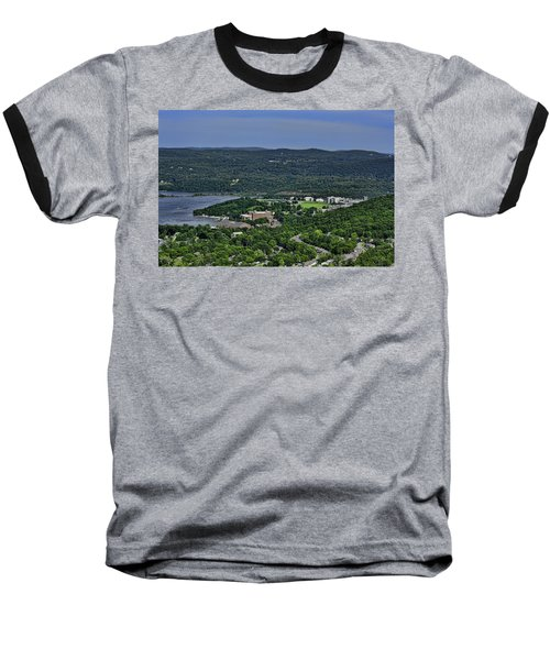 West Point From Storm King Overlook Baseball T-Shirt