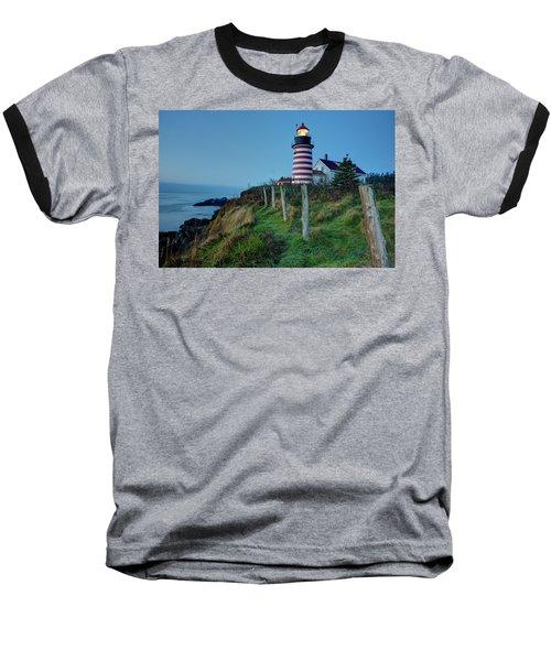 West Quoddy Head Light Baseball T-Shirt
