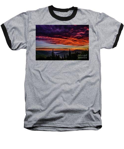 West Virginia Highland Dawn Baseball T-Shirt