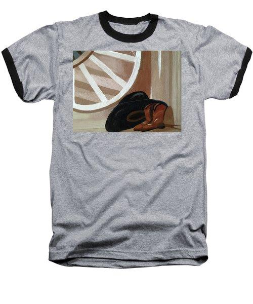Western Art Work For Luke Baseball T-Shirt