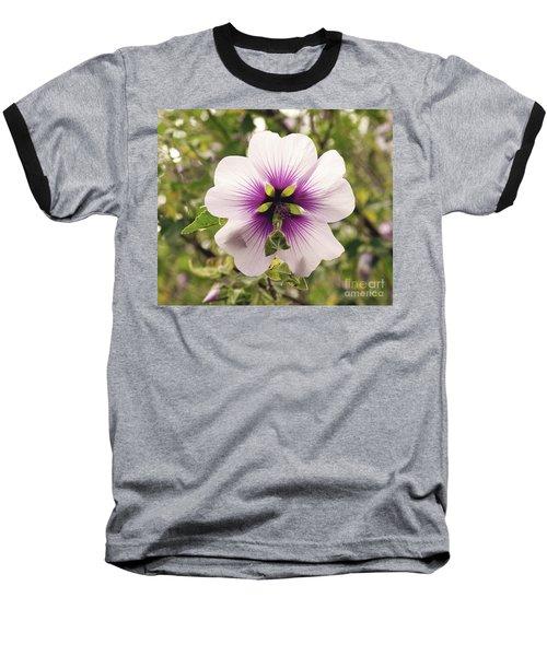 Western Australian Native Hibiscus Baseball T-Shirt